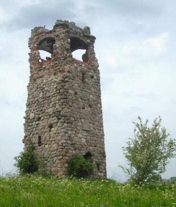 Башня Бисмарка, трасса А229