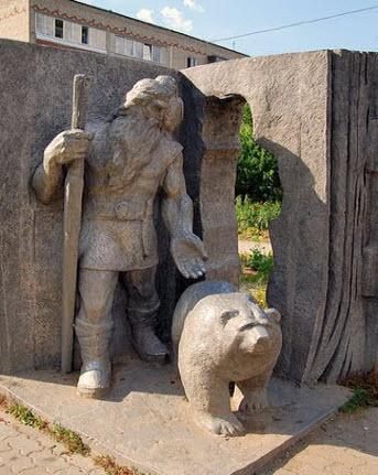 Памятник Кудым-Ош, кудымкар, трасса р344