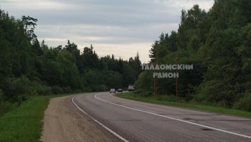Трасса Р112, указатель Талдомский район