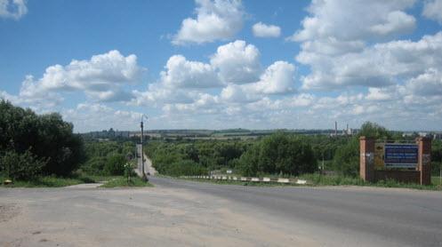 Трасса Р127, дорога р127, скопин