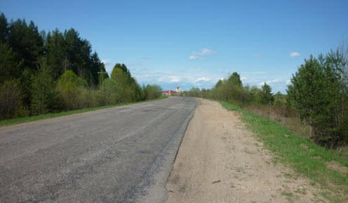 дорога Р157, Архангельская область