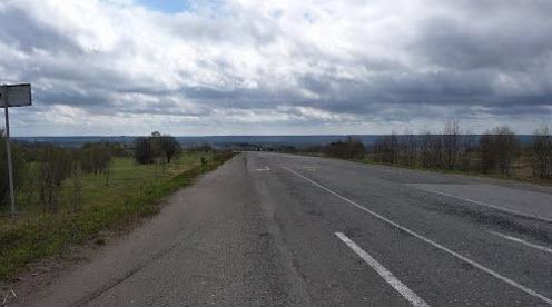Трасса Р157, возле Ираклихи