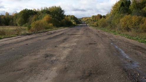 Трасса Р157, после п.Верхнеспасское