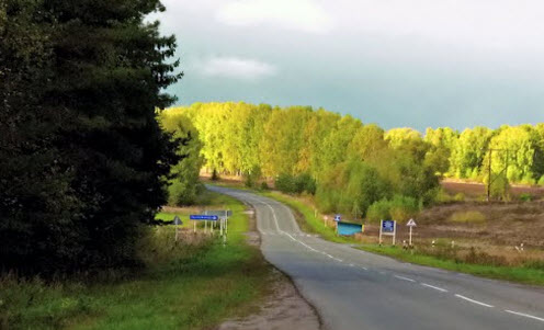Трасса Р160, возле Городца