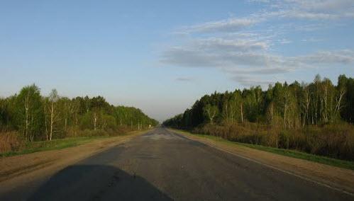 Трасса Р354, Курганская область