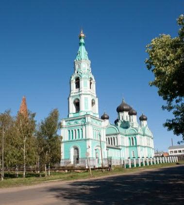 Храм, Яранск, трасса Р159
