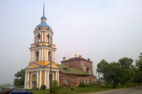 Церковь, Ильинское, трасса Р116