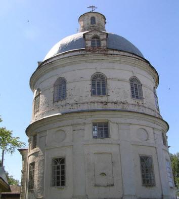 Церковь Тихона Амафунтского, Карагай, трасса Р344
