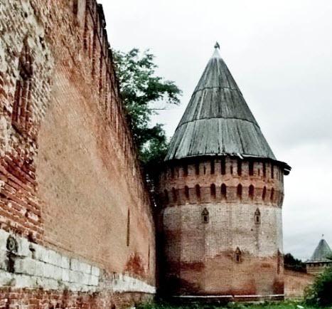 Долгочевская башня, Смоленск, трасса М1