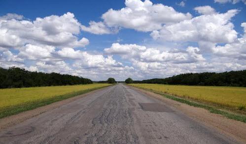 Дорога Р271, возле п Новочигириновский