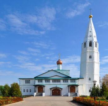 Мироносицкий монастырь, Ежово, трасса Р172