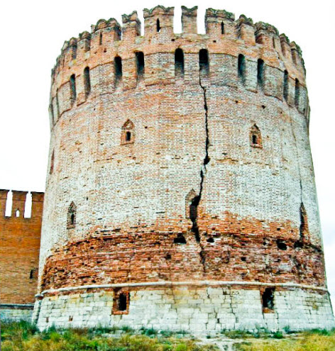Орел (Городецкая) башня, смоленск, трасса М1