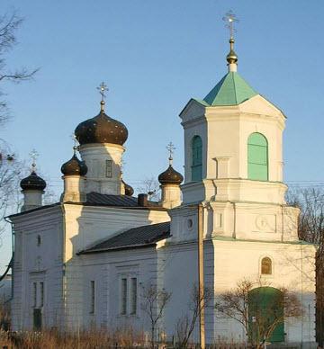 Троицкая церковь, невель, трасса р133