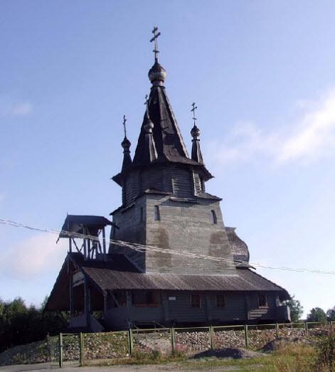 Храм, Повенец, Карелия