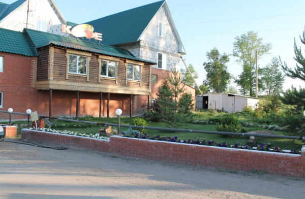 мотель на трассе м5, гсстевой дом Теремок