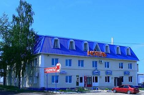 гостиница Монастырское, трасса М5