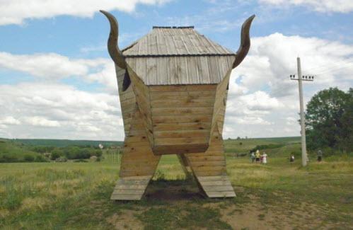 деревянный бык, кудыкина гора, трасса М4