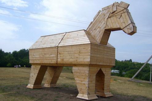 деревянный конь кудыкина гора, трасса дон
