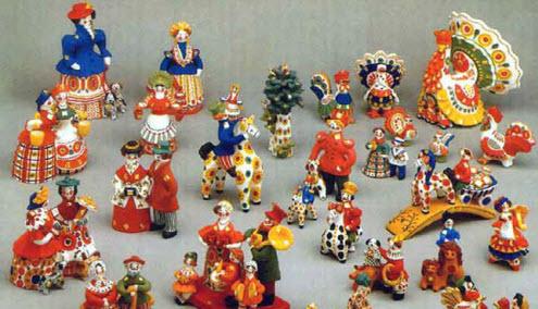дымковская игрушка, Вятские Поляны, трасса р-169