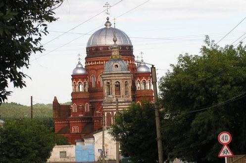кафедральный собор, Уржум, трасса р-169