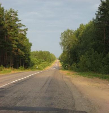 трасса Р133, маршрут Ольша Невель