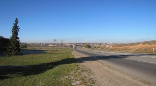трасса р-172, в районе Советский