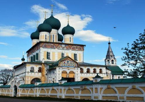 Воскресенский собор, Тутаев, трасса р-151