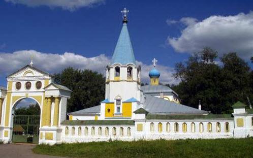 Покровская церковь, советск, трасса р-168