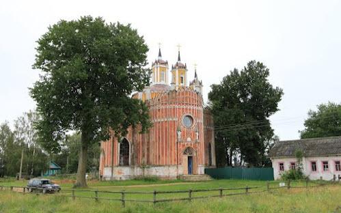 Преображенская церковь, Красное, трасса Р88