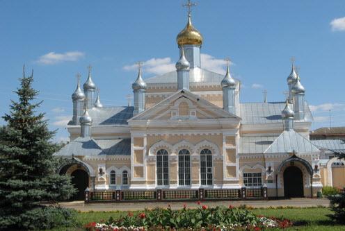 Свято-Ольгинский монастырь, Инсар, трасса Р179