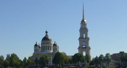 Спасо-Преображенский собор, Рыбинск, трасса Р-151
