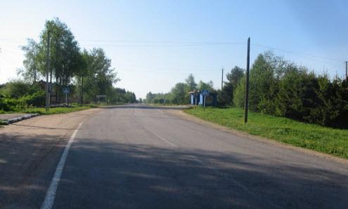 Трасса Р53, д. васильково