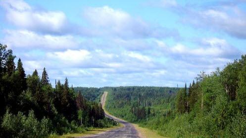 Трасса р-26, маршрут Сыктывкар - Троицко-Печорск