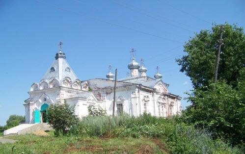 Троицкий Собор, Мариинский Посад, трасса Р174