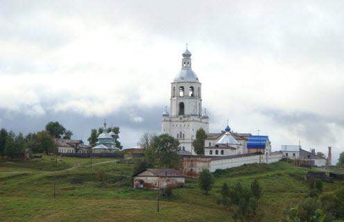 Ульяновский монастырь, трасса р26