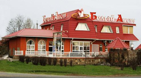 мотель белый аист, гостиницы на трассе м2