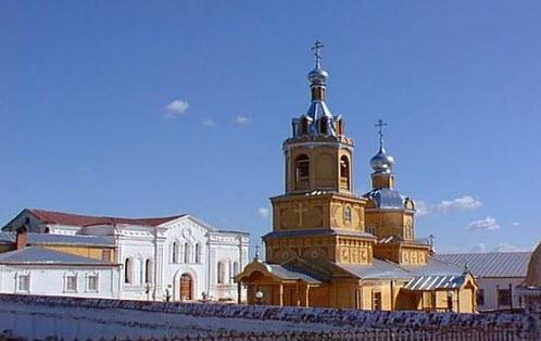 тихвинский монастырь, цивильск, трасса Р174