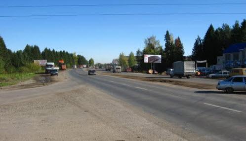 трасса р-168, возле кирова