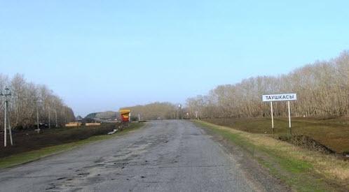 трасса р174, в районе таушкасы