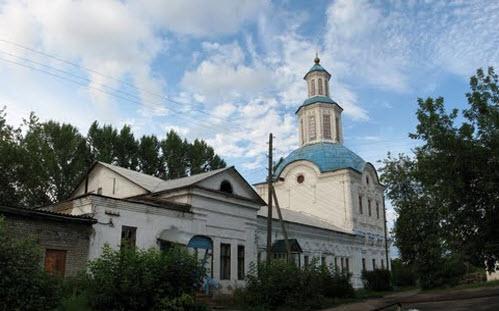 церковь Рождества Богородицы, Нижнеивкино, трасса р-168