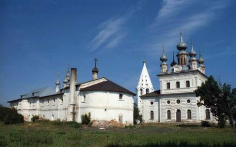 Михайло-Архангельский монастырь, дорога р74
