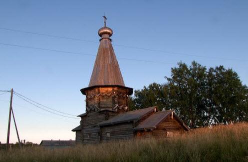 Успенская церковь, космозеро, трасса р17