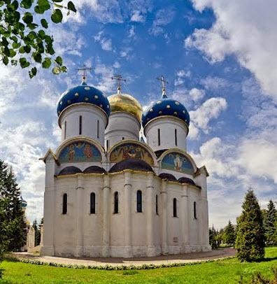Успенский собор, Сергиев Посад, трасса Р104