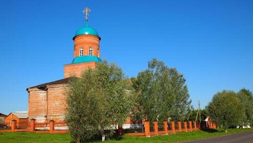 Церковь Иакова Алфеева, Алатырь, трасса Р231
