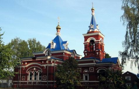 Церковь Покрова Богородицы, Егорьевское шоссе