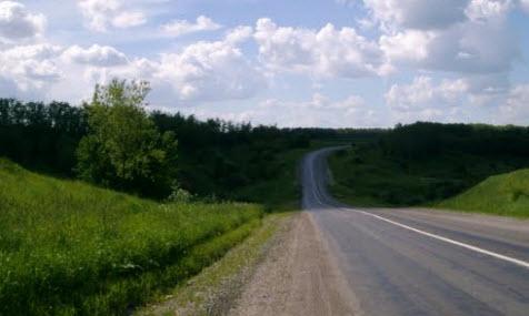 трасса М2, маршрут курск белгород