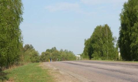 трасса р105, маршрут Москва Касимов