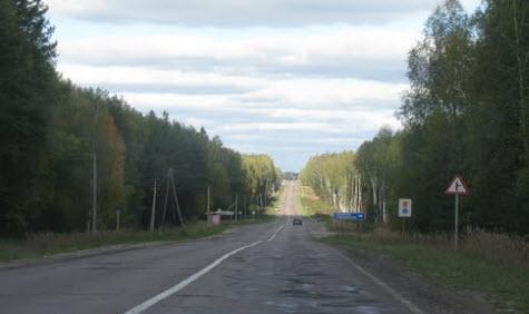трасса р106, маршрут Куровское - Самойлиха