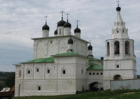 Анастасов монастырь, трасса Р139
