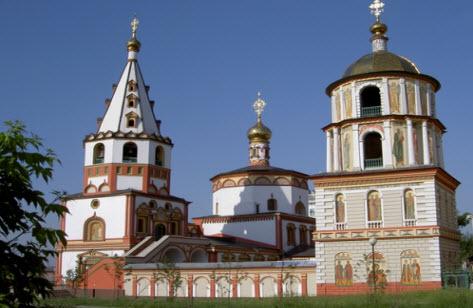 Собор Богоявления, Иркутск, трасса р418